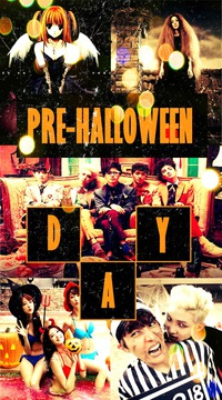 1K: PRE-HALLOWEEN DAY (kpop & anime party) 2015