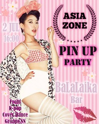 ASIA ZONE 2016: Pin Up