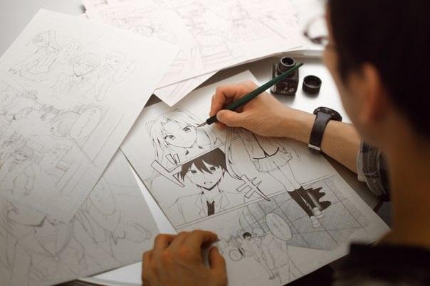 Художники которые рисуют комиксы